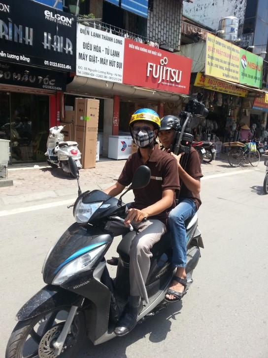 Avghotline - Truyền hình An Viên - trên đường Nguyễn Lương Bằng